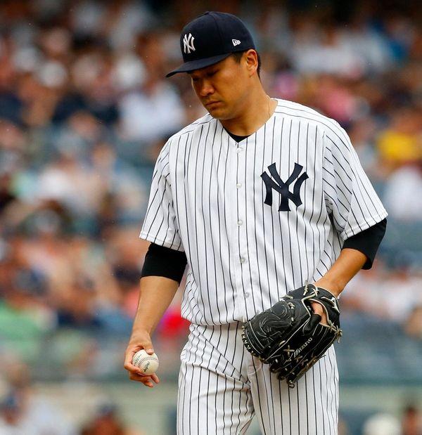 Masahiro Tanaka of the Yankees allowed only one