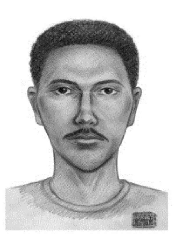 An NYPD sketch depicts a person of interest