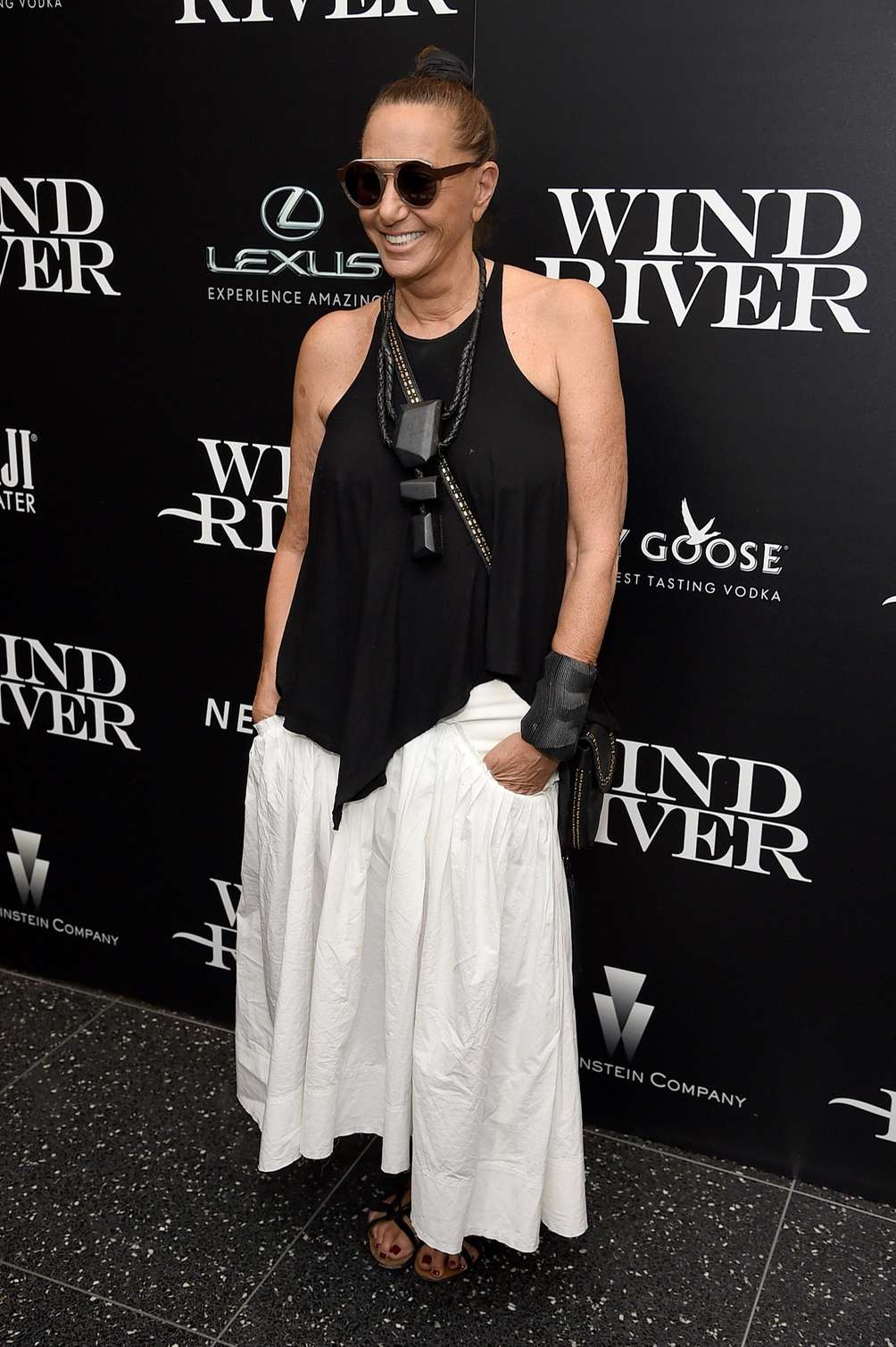 Donna Karan attends a screening of the film