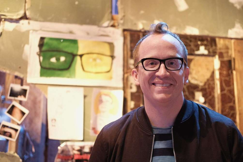 Chris Gethard attends an event for truTV channel's