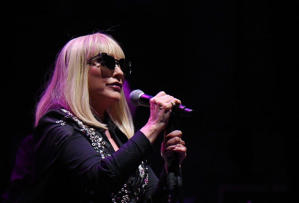 Debbie Harry of Blondie performs at The Beacon