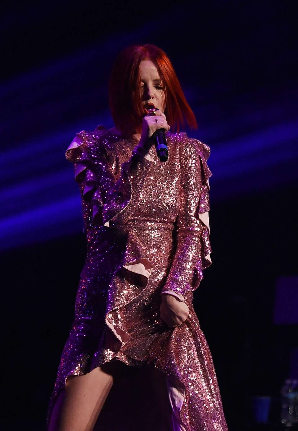 Shirley Manson of Garbage performs at The Beacon