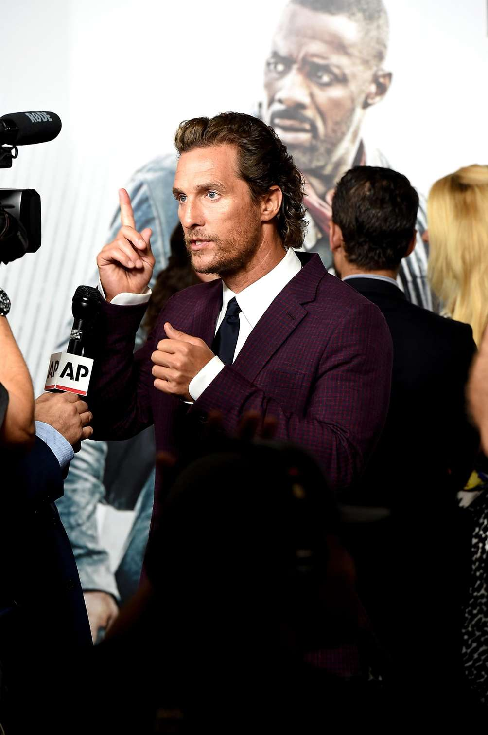 Matthew McConaughey attends the New York premiere of