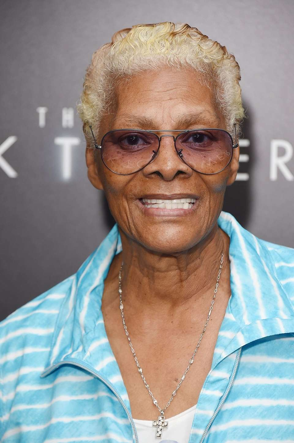 Dionne Warwick attends the New York premiere of