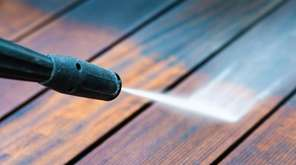 Power-washing your deck can make it look years