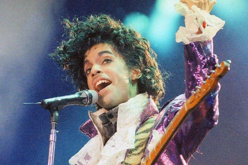 Prince dominated 1984 with his hit song
