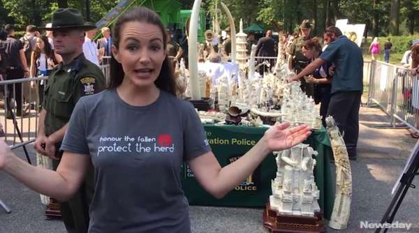 Actress and activist Kristin Davis joined the New