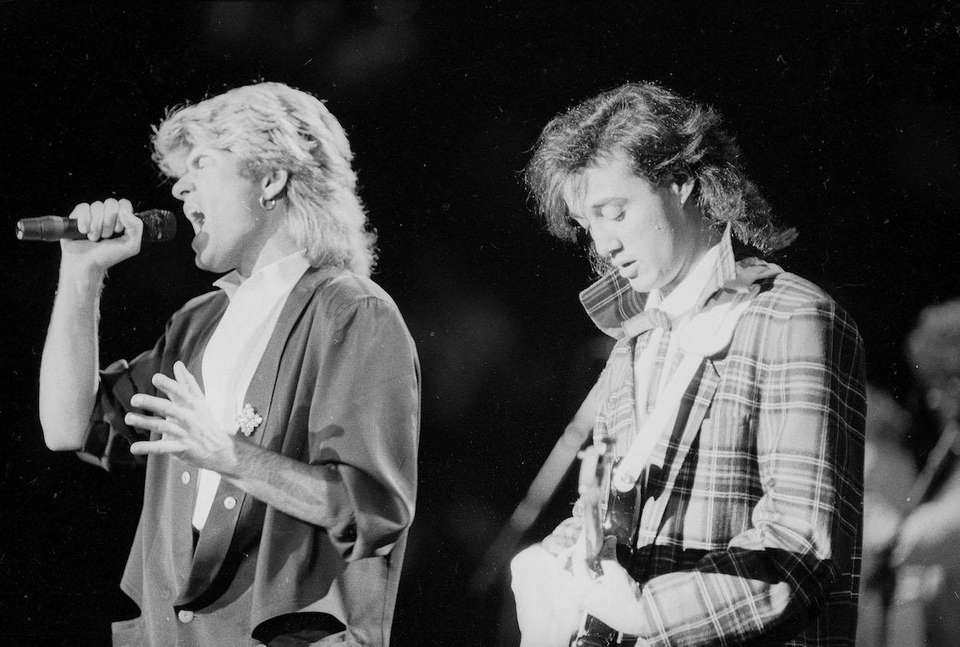 Wham! shot to fame in the 1980s and