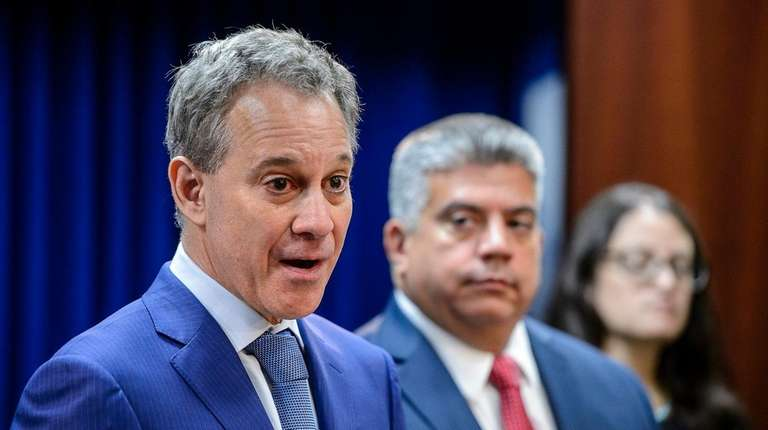 New York State Attorney General Eric Schneiderman at