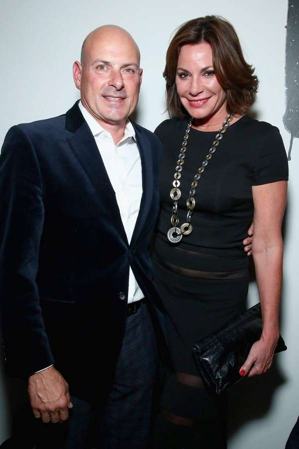 Tom D'Agostino Jr. and Luann de Lesseps at