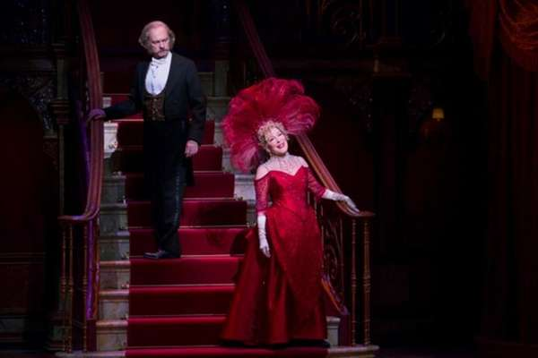 David Hyde Pierce and Bette Midler in