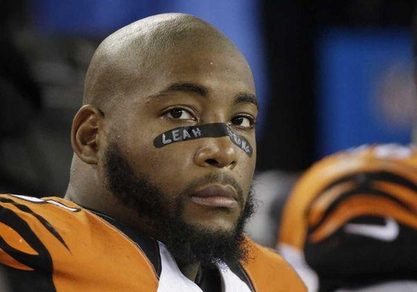 Cincinnati Bengals defensive tackle Devon Still (75) watches