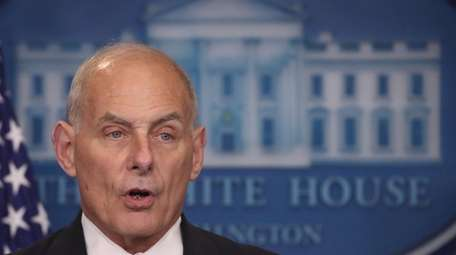Retired Gen. John Kelly is President Donald Trump's