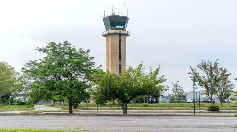 One of five parcels at Republic Airport in