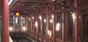 The subway station near the 59th Street Columbus