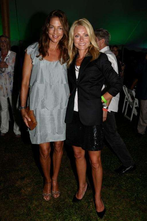 Kelly Klein and Kelly Ripa attend