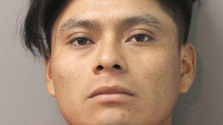 Fredy Orlando Zacaria-Agustin, 25, of Valley Stream, was