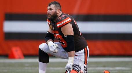 Cleveland tackle Joe Thomas, shown here in