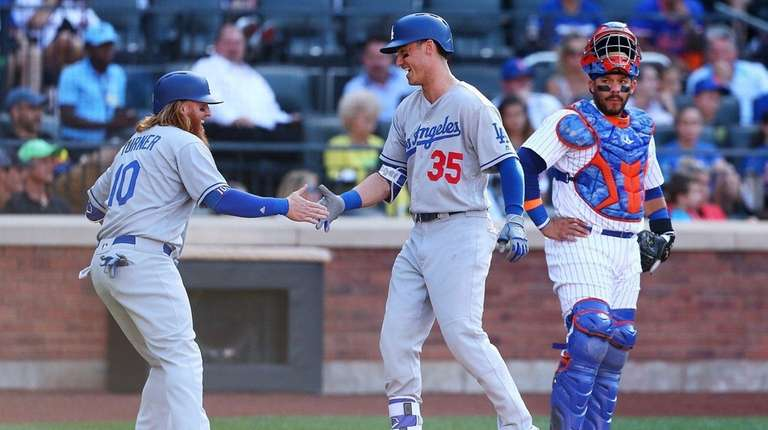 Cody Bellinger #35 of the Los Angeles Dodgers