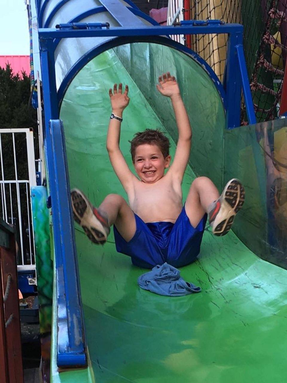 Aaron six years old from Syosset LI having