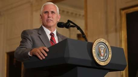 Vice President Mike Pence, in a statement Sunday,