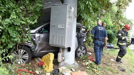 A woman was injured on Sunday, Aug. 6,