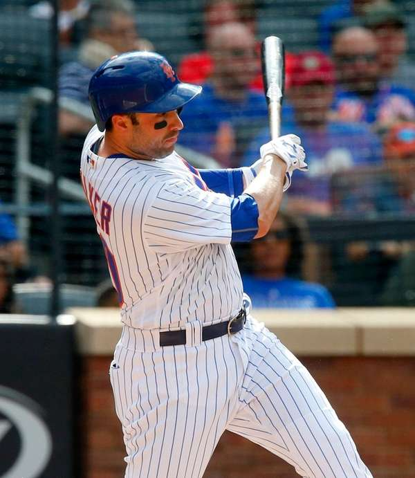 Neil Walker of the New York Mets connects
