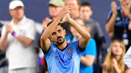 David Villa #7 of New York City FC