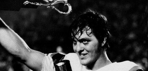 Florida quarterback John Reaves celebrates after being named