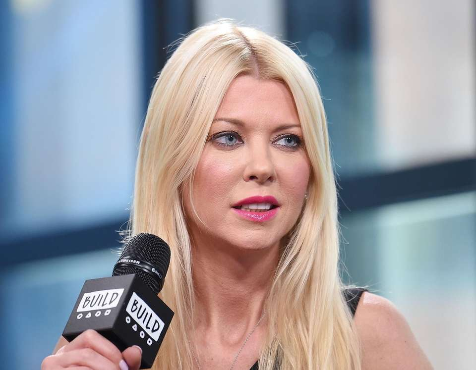 Tara Reid appears at Build Studio in Manhattan
