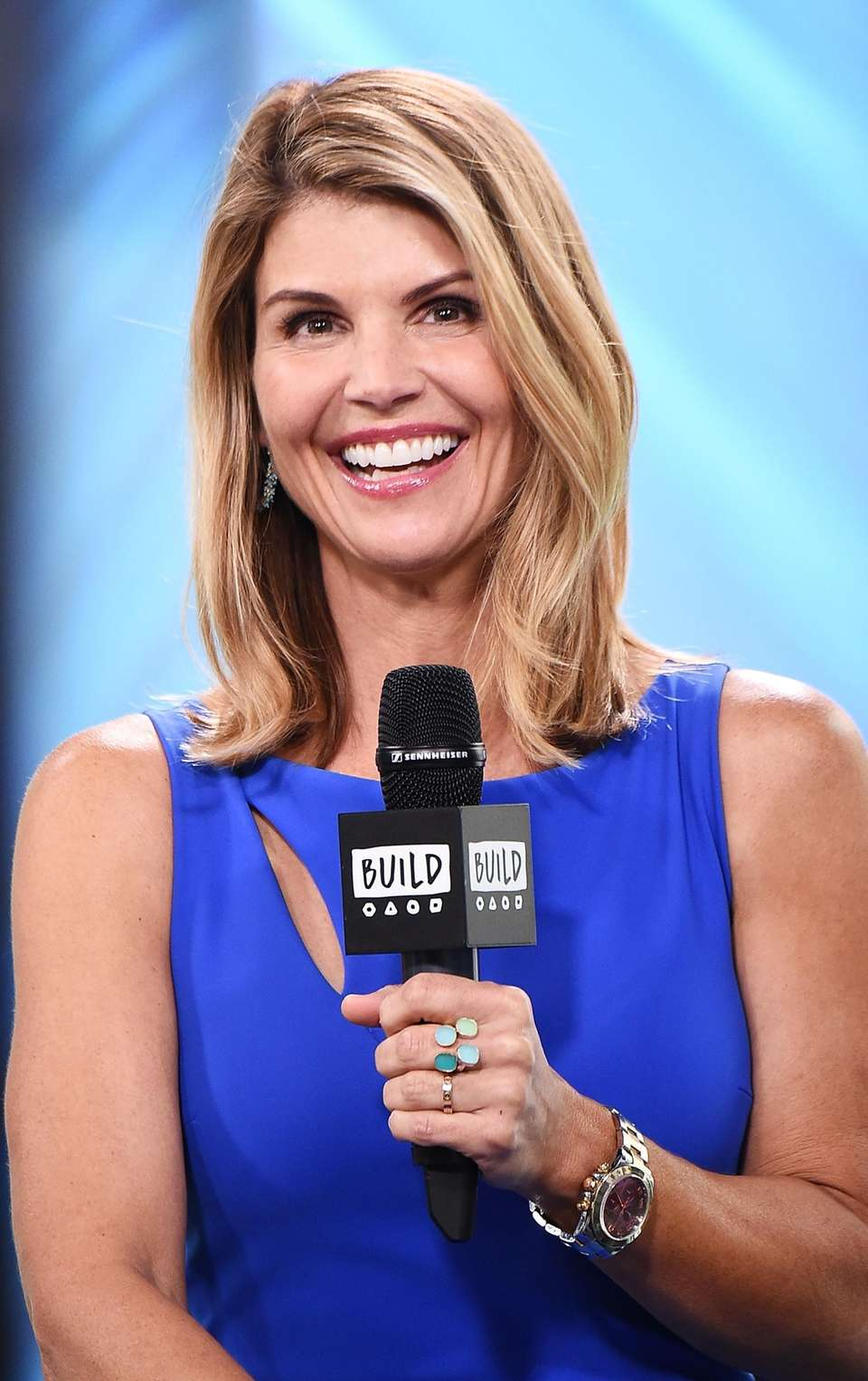 Lori Loughlin appears at Build Studio in Manhattan