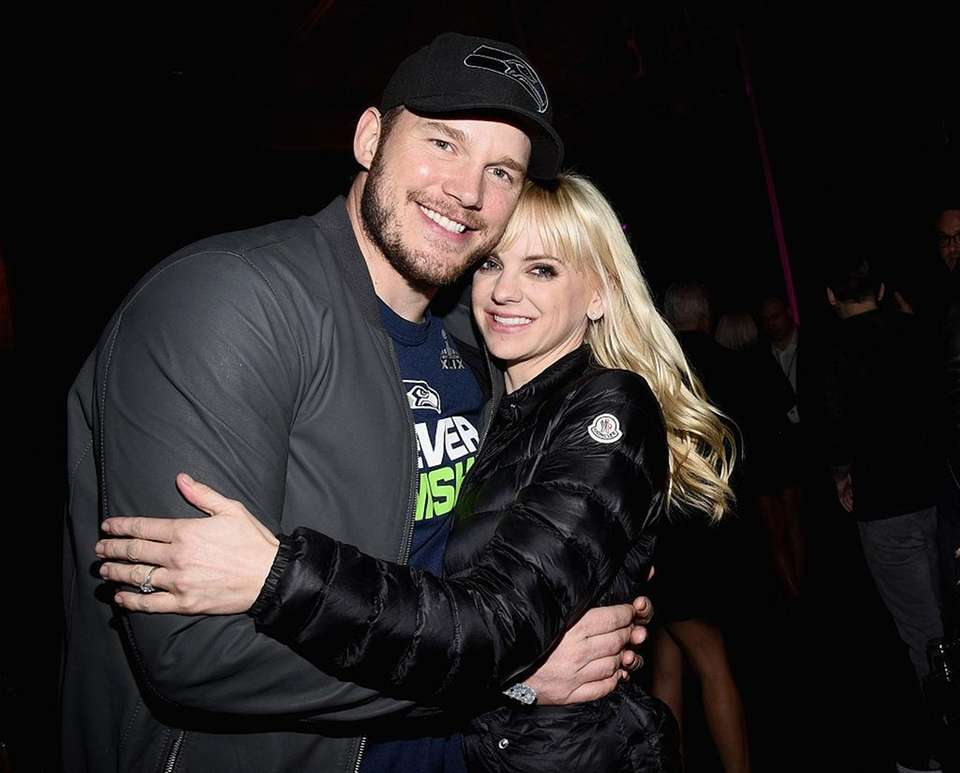 Actors Chris Pratt and Anna Faris announced on