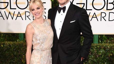 Anna Faris and Chris Pratt arrive at the