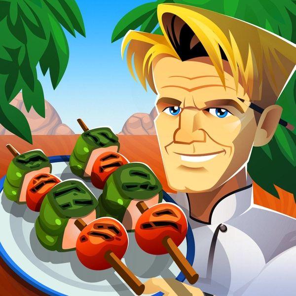 In Restaurant Dash, celebrity chef Gordon Ramsay critiques