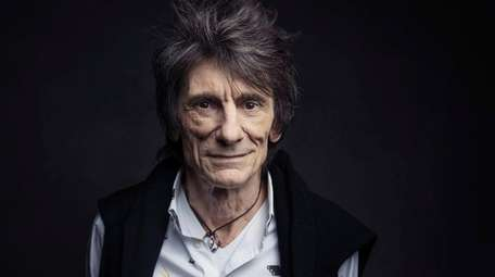 Ronnie Wood of the Rolling Stones, seen here