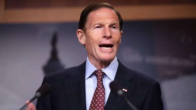 Sen. Richard Blumenthal of Connecticut, seen on Jan.