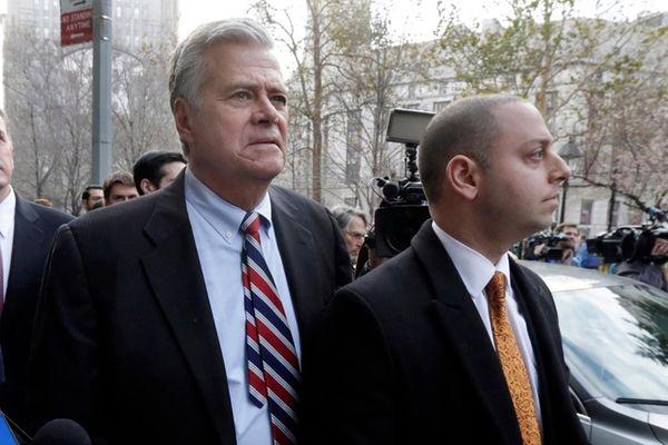 Former New York state Senate leader Dean Skelos,