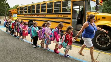 On the Middle Country school district's first day