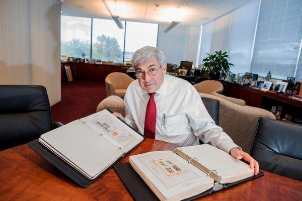 Henry Schein CEO Stanley Bergman at his Melville