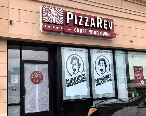 PizzaRev in Syosset, seen here on Monday, Aug.
