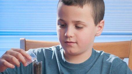 Kidsday reporter Dominick Utano tests the Global Water
