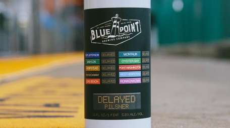 Delayed, a new Pilsner by Blue Point Brewing