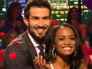 Bryan Abasolo and Rachel Lindsay of