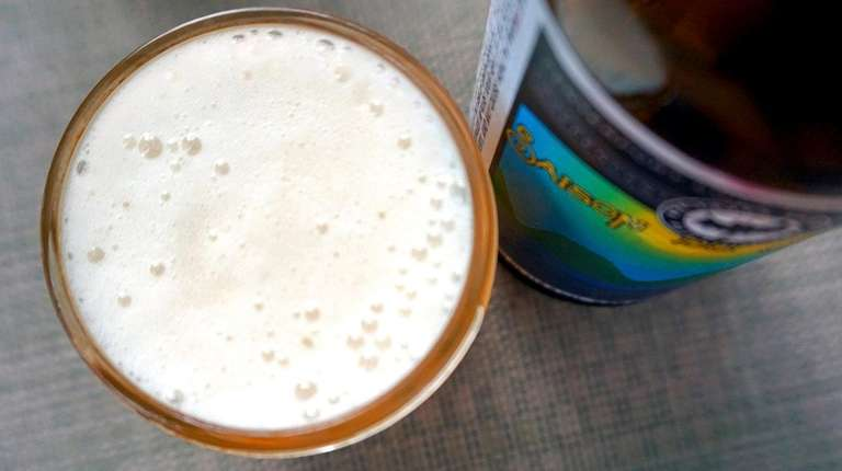 La Saison du Soleil from Blind Bat Brewery.