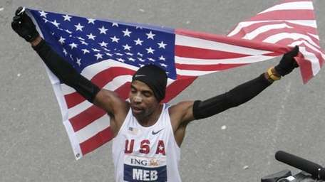 Meb Keflezighi of the United States at the