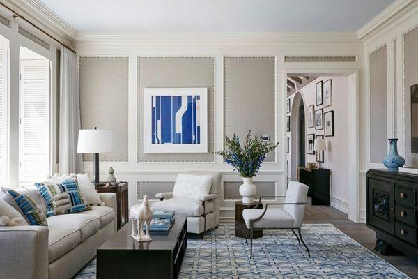 Boxwoods, a fully furnished James Michael Howard-designed Sagaponack