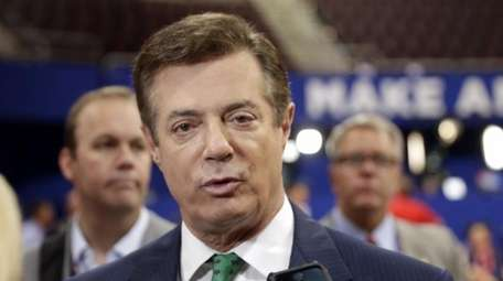 Paul Manafort at the Republican National Convention at