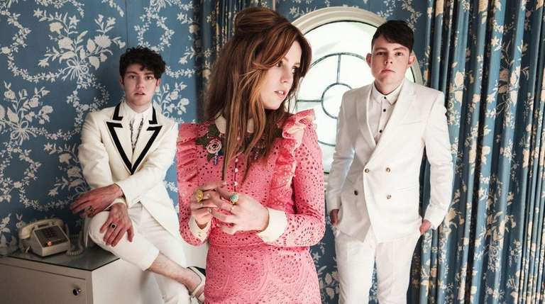 Echosmith siblings Noah, Sydney and Graham Sierota play