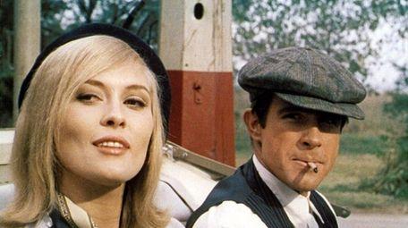 Faye Dunaway and Warren Beatty rob banks as