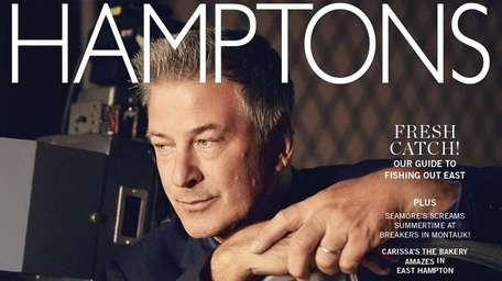 Actor Alec Baldwin on the cover of the
